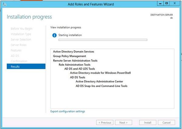 Windows Server 2012 Active Directory Kurulumu