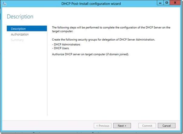 Windows Server 2012 DHCP Server Kurulumu
