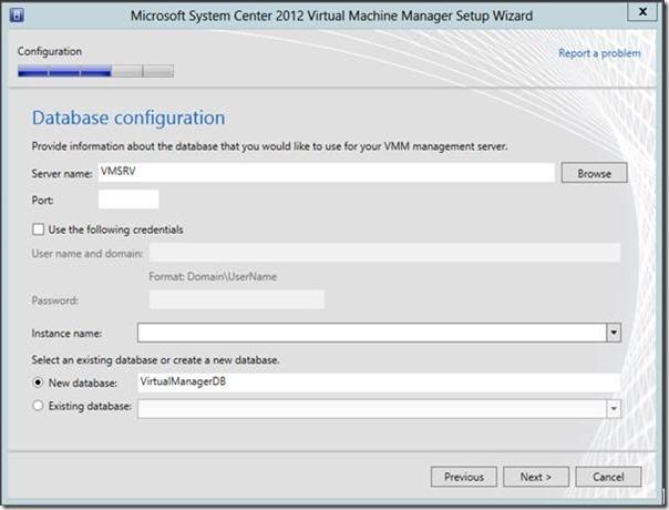System Center Virtual Machine Manager 2012 Kurulumu