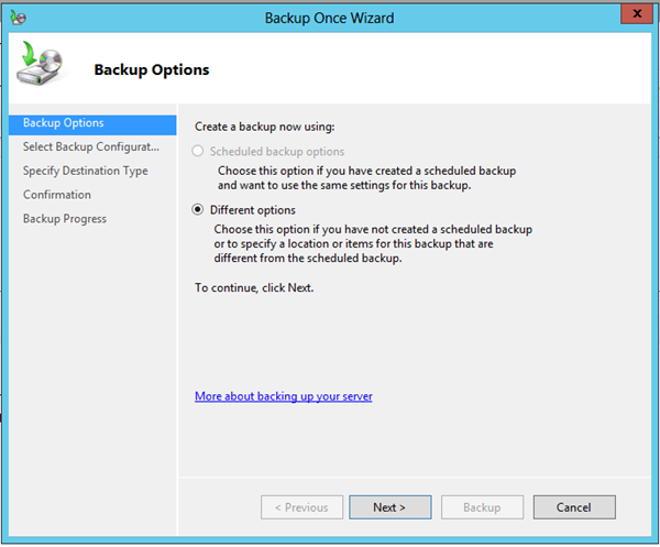 Windows Server 2012 Hyper-V Backup ve Recover