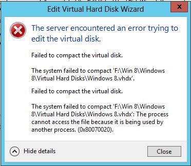Hyper-V Compact Disk