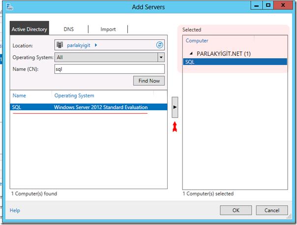 Windows Server 2012 Server Pool