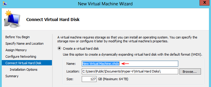 VHDX Virtual Disk