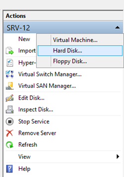 Differencing Disk