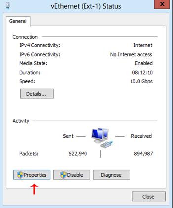 Windows Server 2012 IP Adres Sabitleme