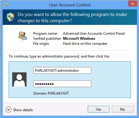 Domain Kullanıcısını Local Bilgisayar Üzerinde Administrator Olarak Yetkilendirme