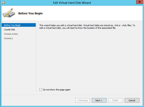 Virtual Disk İşlemleri
