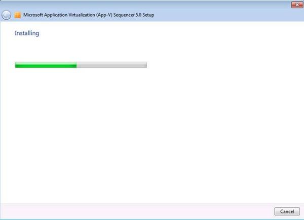 App-V 5.0 SP1 Sequencer Kurulumu