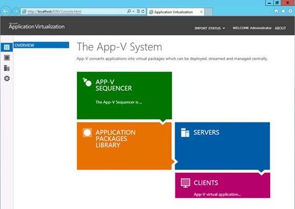 App-V 5.0 SP1 Server Kurulumu