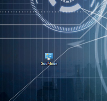 Windows 8.1 GodMode (Tanrı Modu)