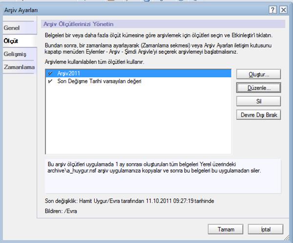 Domino Lotus Server 8.5 Mail Database Compact İşlemi