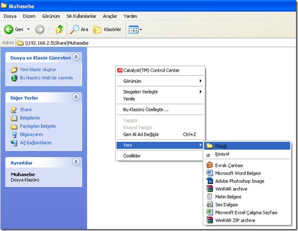Windows 7 Dosya Paylaşımı ve Yetkilendirme