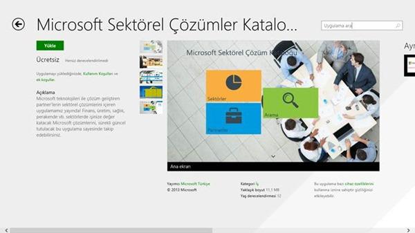 Windows 8.1 Mağaza İçerisinde Uygulama Arama