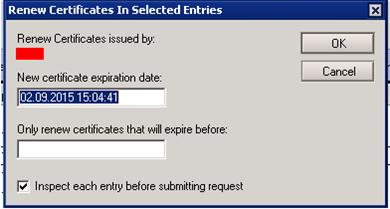 People Certificate Expiration Date Süresini Uzatmak